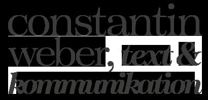 Constantin Weber Texter